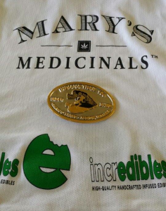 Avery Collins Mary's Medicinals Incredibles Sponsored Jersey